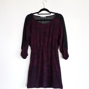 Maurices Half Sleeve Slightly Fitted Dress